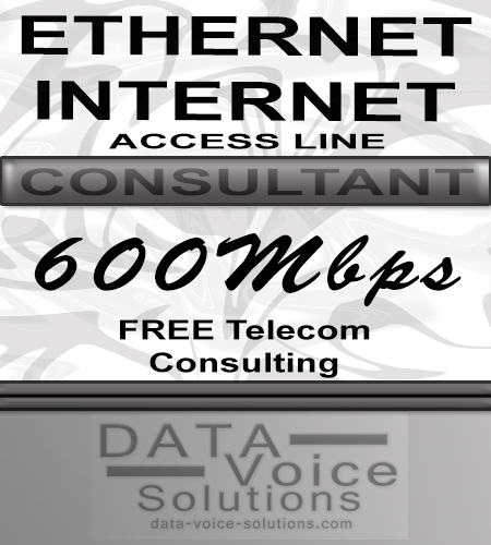 data-voice-solutions.com: ethernet internet access line consultant 600MB, 
